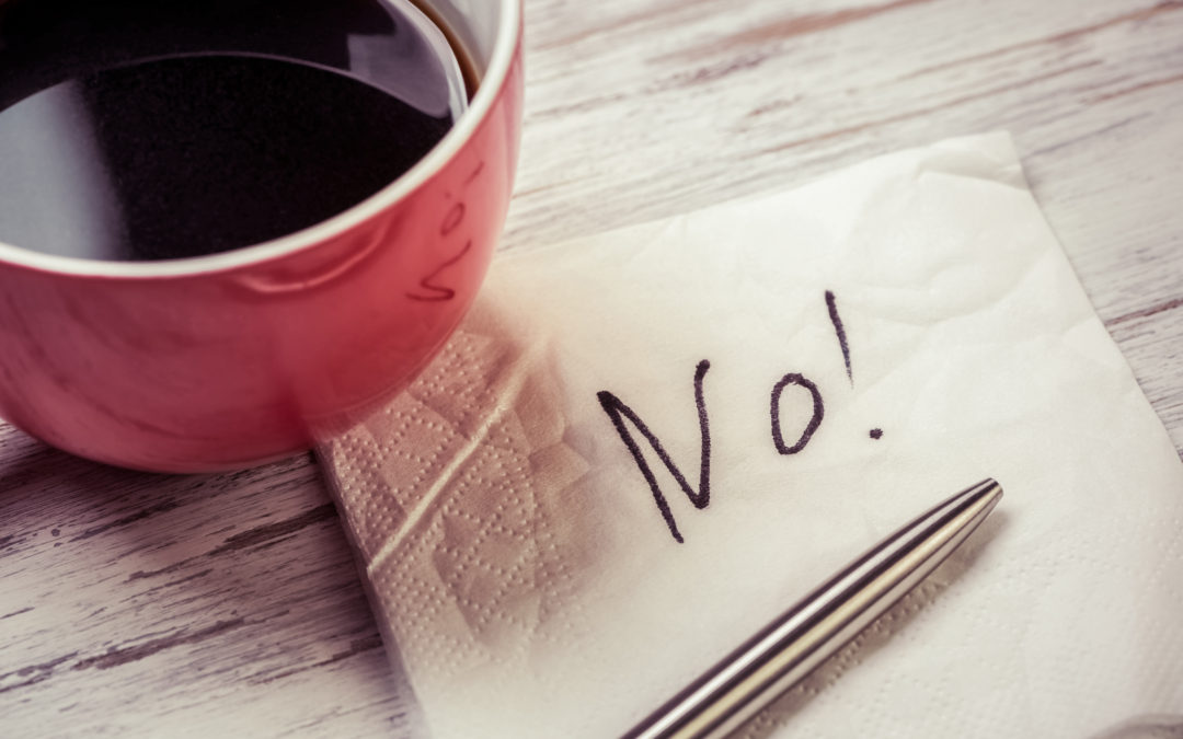 Just Say 'No' Part 2: Your Core Values